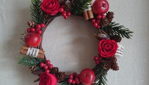 クリスマスリースの簡単な作り方!材料を揃えておしゃれな手作りに挑戦!