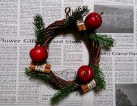 クリスマスリース 作り方 材料