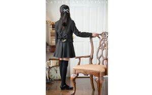 卒業式 女の子 スーツ