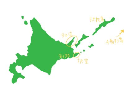 ラッコ 北海道