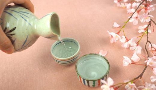花見で日本酒は熱燗がおすすめ!公園でも飲める準備をして体を冷やさない!