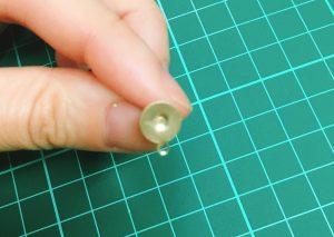 クラシカルボタン  ハンドメイド 簡単応用